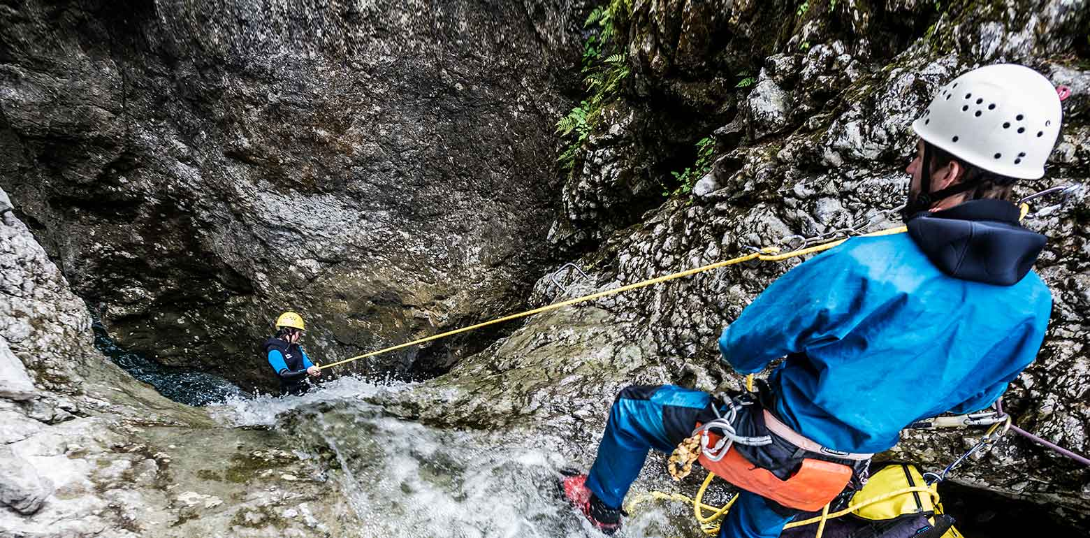 Canyoning & Mountainbiken